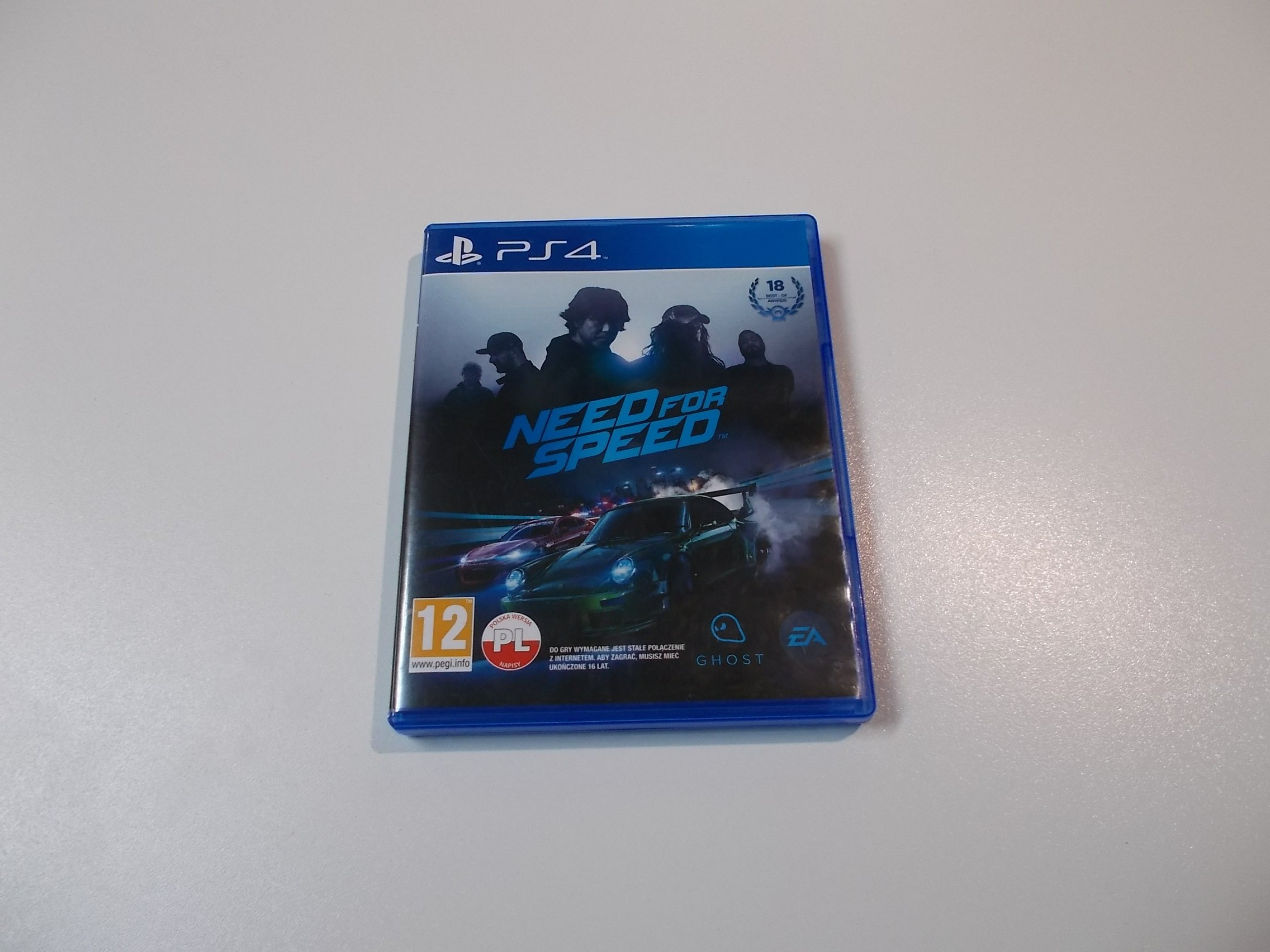 Need for speed PL - GRA Ps4 - Sklep ALFA Opole 0378