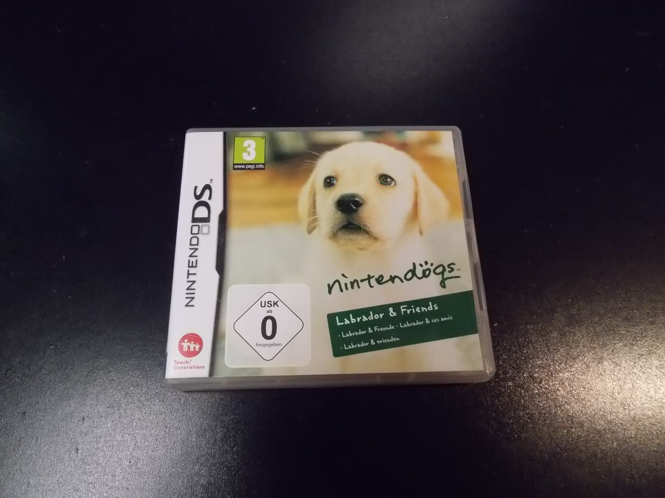 Nintendogs Labrador & Friends - GRA Nintendo DS Sklep