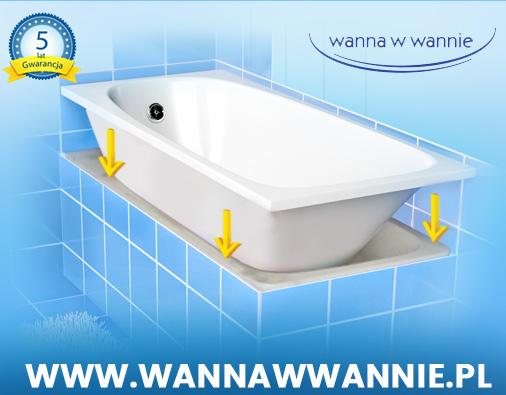 Nowa wanna bez remontu w łazience