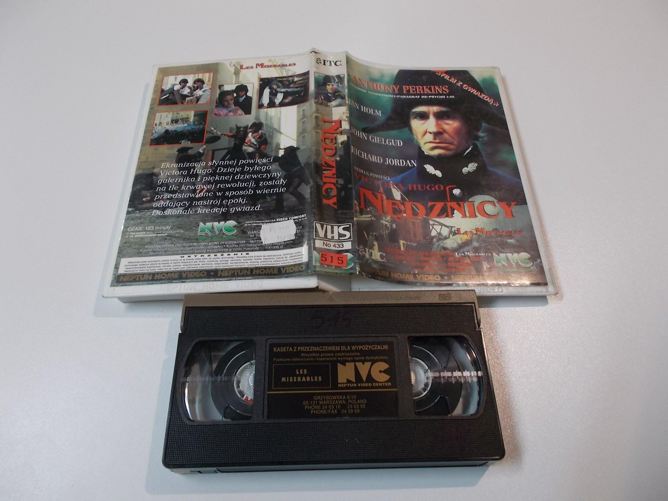 NĘDZNICY - kaseta Video VHS - 1449 Sklep