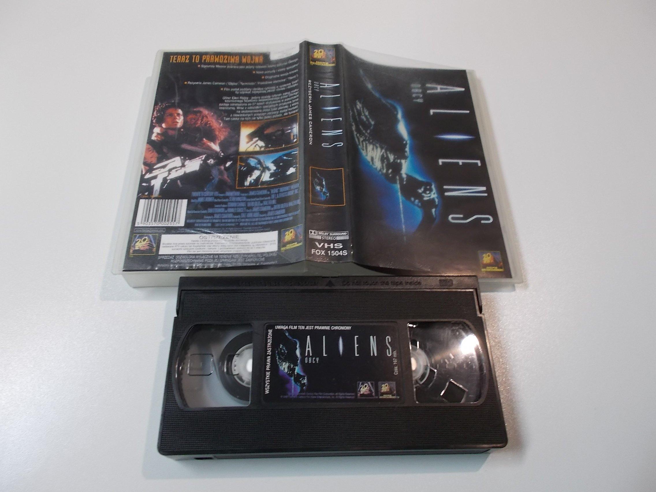 OBCY - ALIEN - Kaseta Video VHS - 1481 Opole - AlleOpole.pl