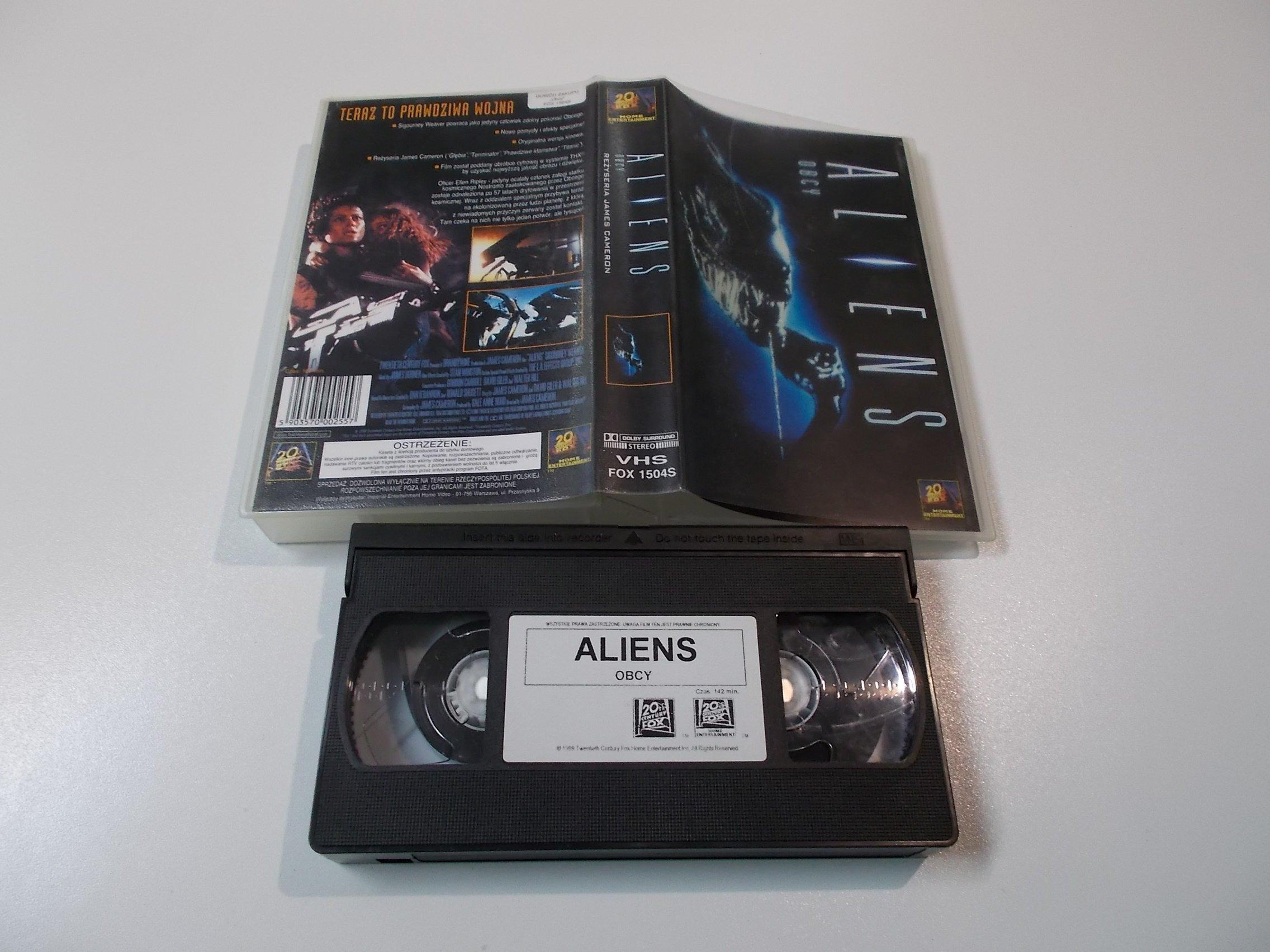 OBCY - ALIEN - Kaseta Video VHS - 1482 Opole - AlleOpole.pl