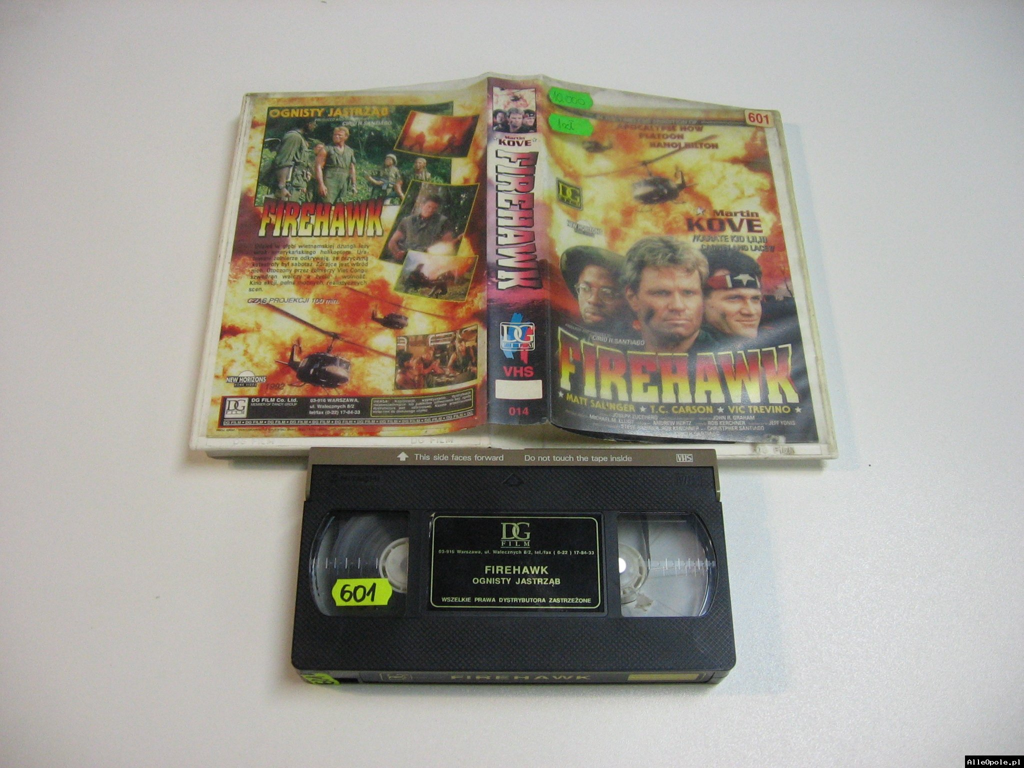OGNISTY JASTRZĄB - VHS Kaseta Video - Opole 1830
