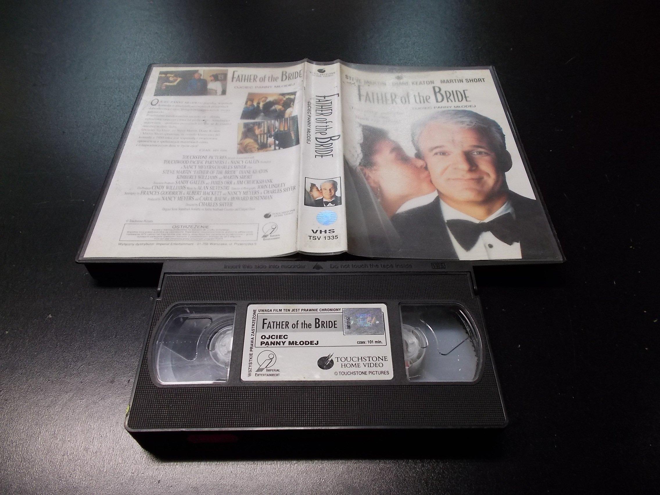 OJCIEC PANNY MŁODEJ -  kaseta VHS - 1173 Opole - AlleOpole.pl