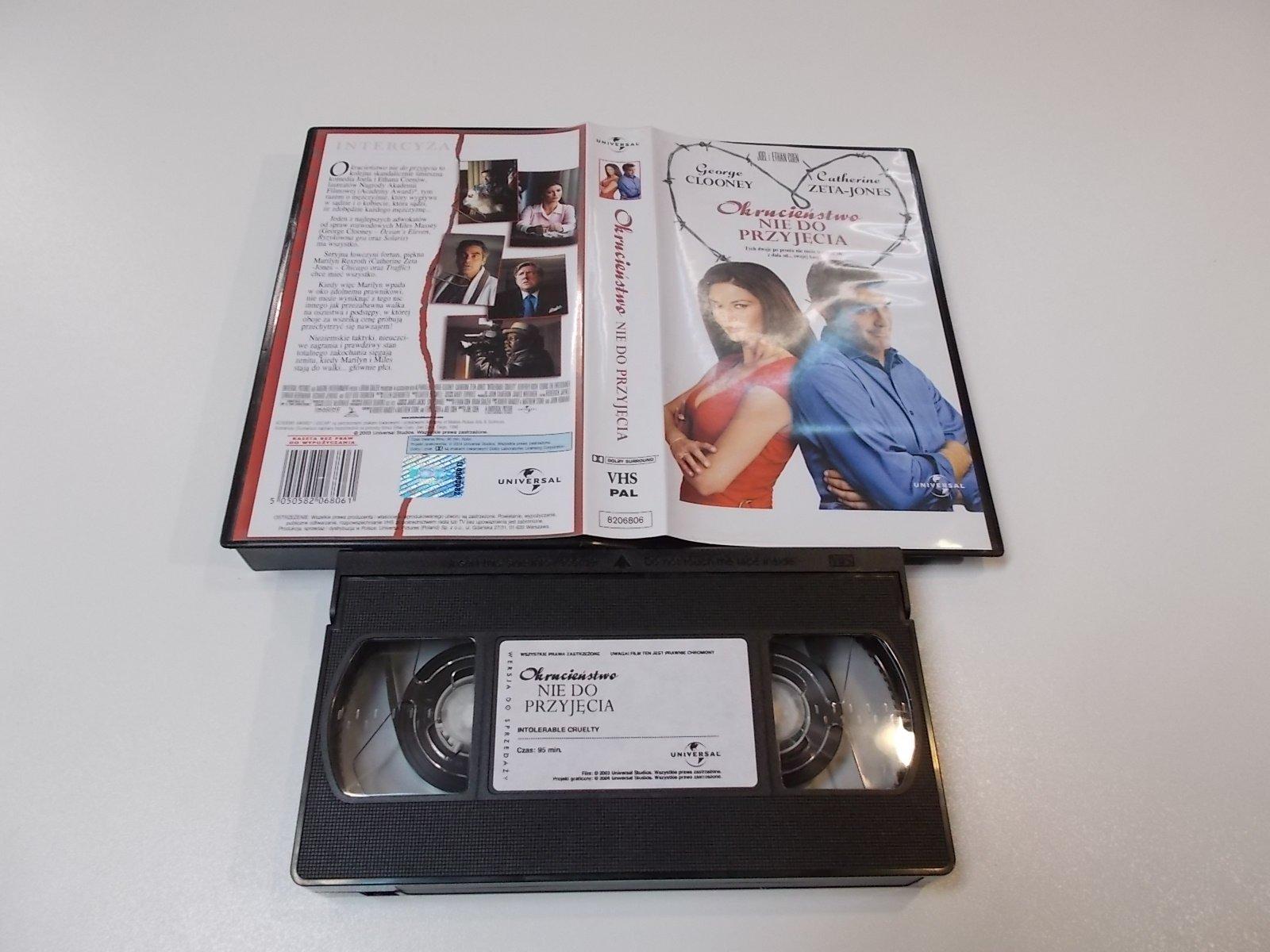 OKRUCIEŃSTWO NIE DO PRZYJĘCIA - VHS Kaseta Video - Opole 1680