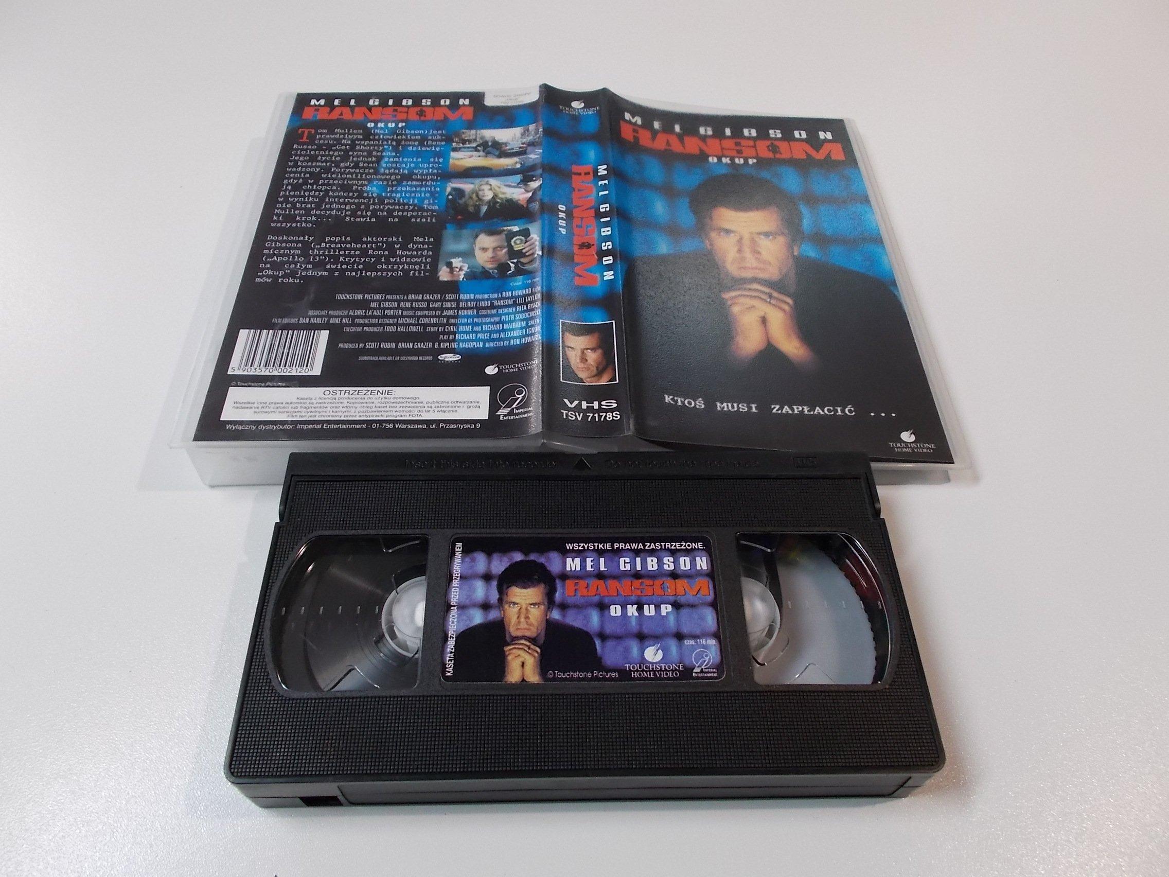 OKUP - MEL GIBSON - Kaseta Video VHS - Opole 1509