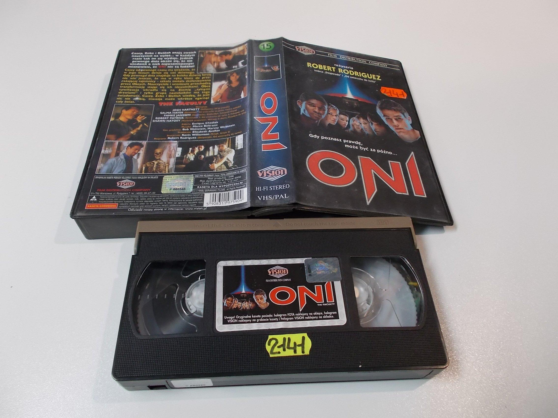 ONI - Kaseta Video VHS - Opole 1582