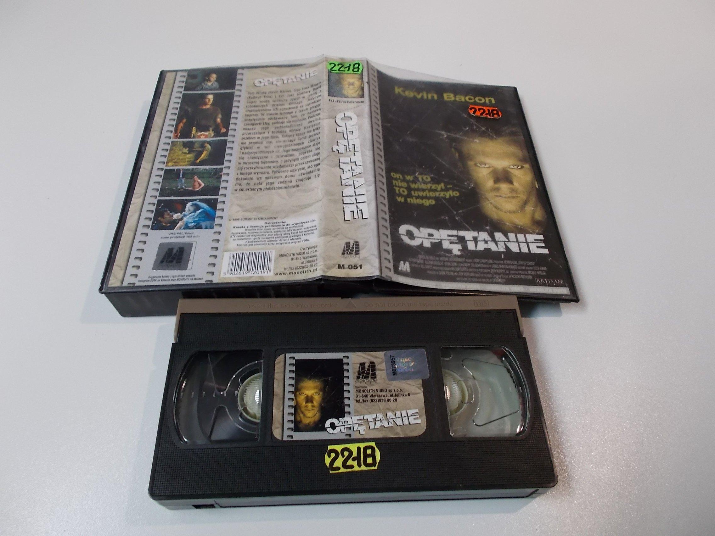 OPĘTANIE - Kaseta Video VHS - Opole 1586