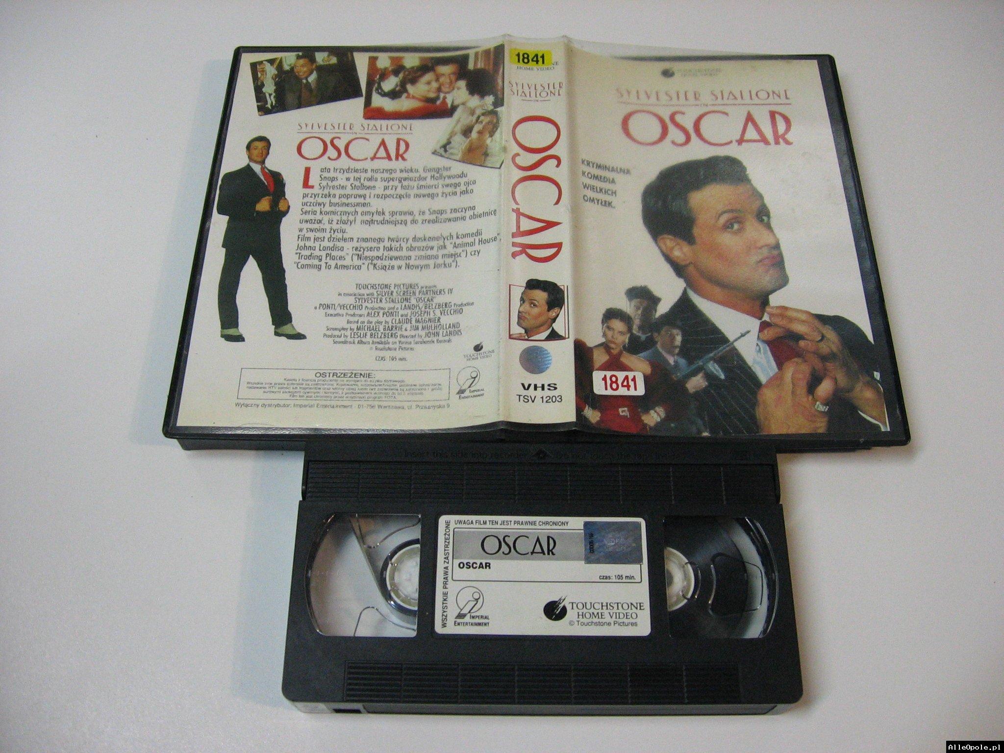 OSCAR - SYLVESTER STALLONE - VHS Kaseta Video - Opole 1753