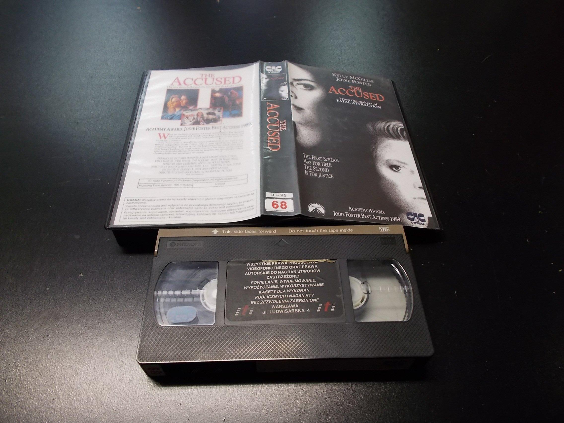 OSKARŻENI  -  kaseta VHS - 1143 Opole - AlleOpole.pl