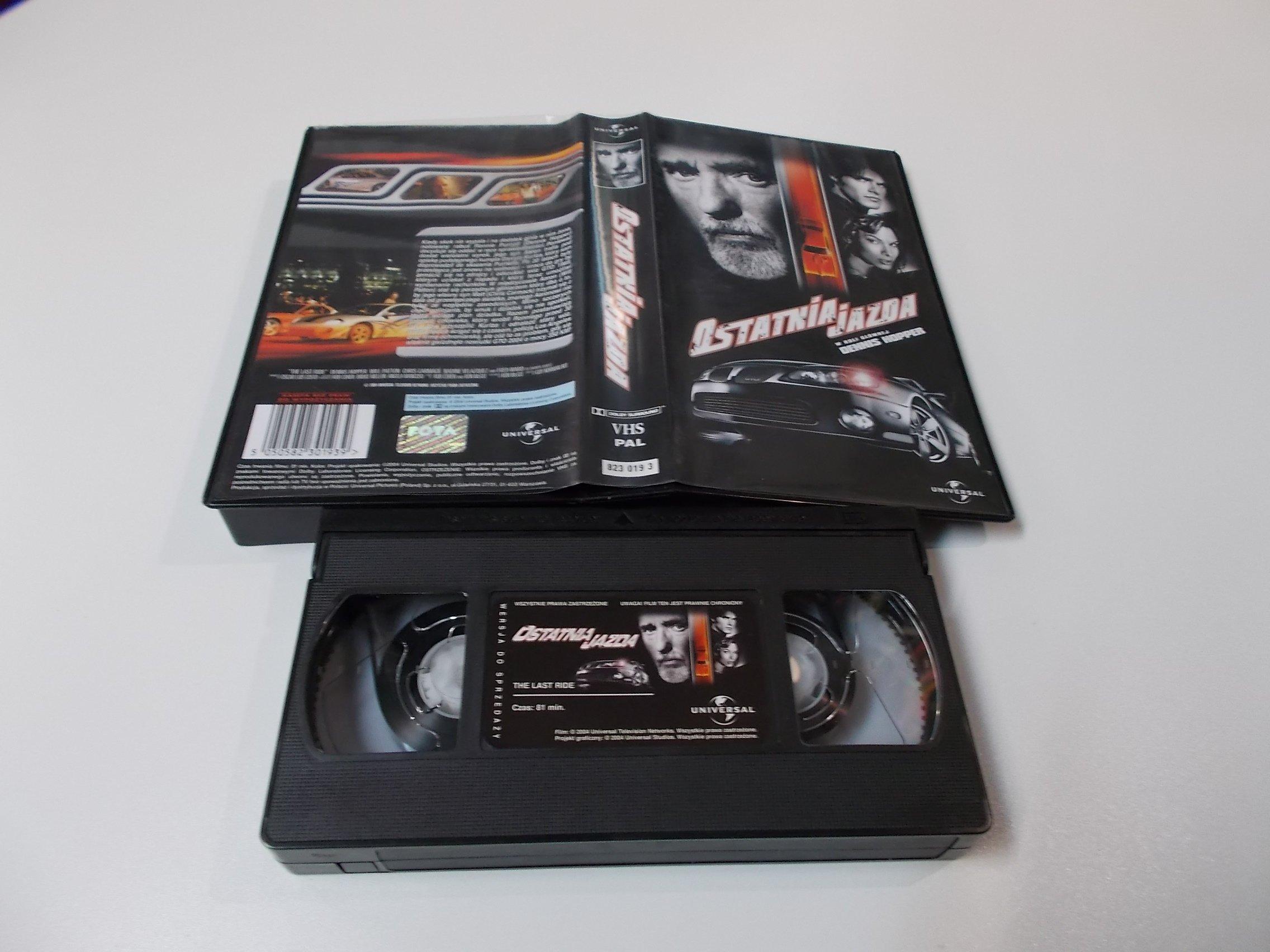 OSTATNIA JAZDA - VHS Kaseta Video - Opole 1636