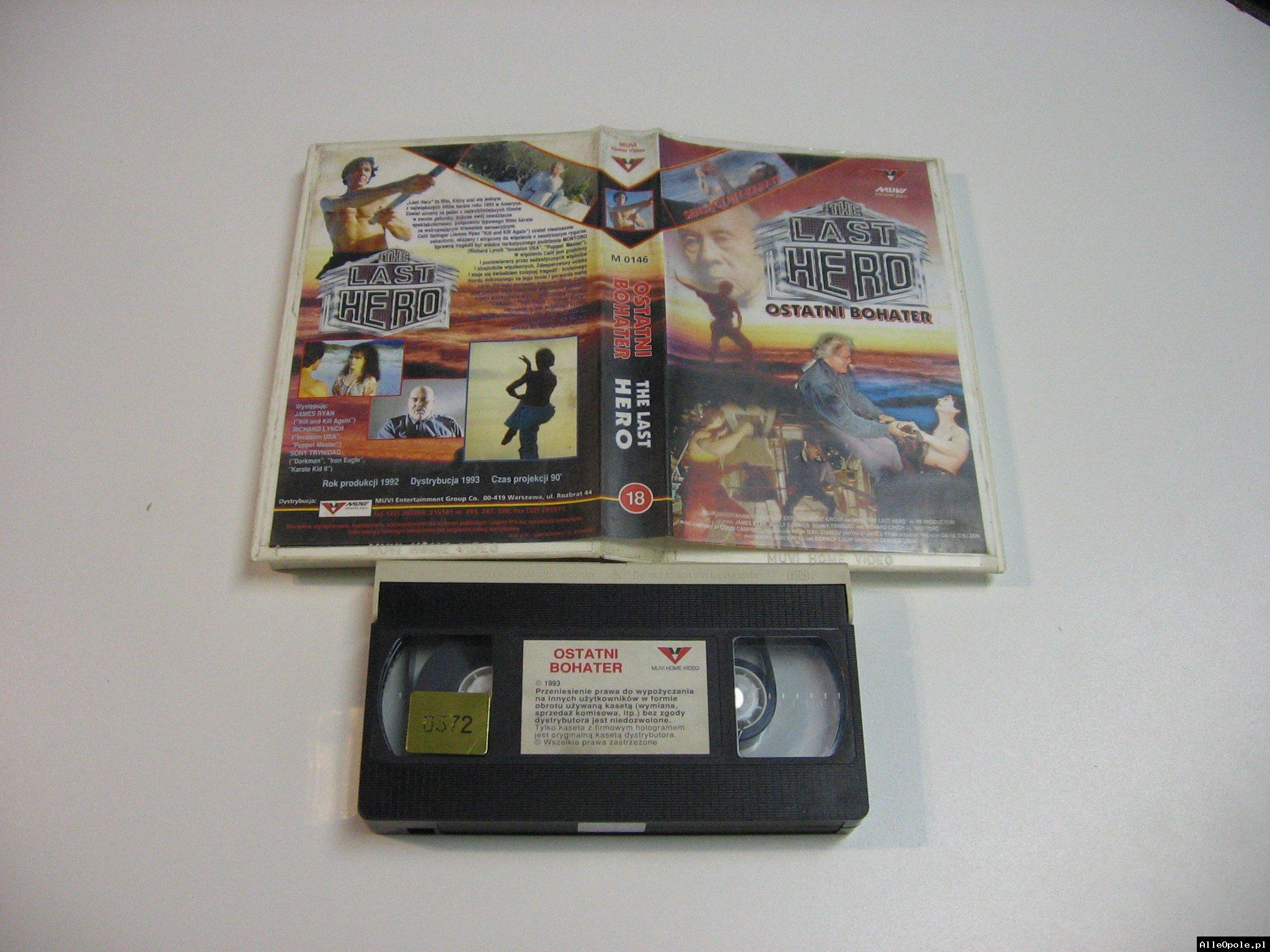 OSTATNI BOCHATER - VHS Kaseta Video - Opole 1809