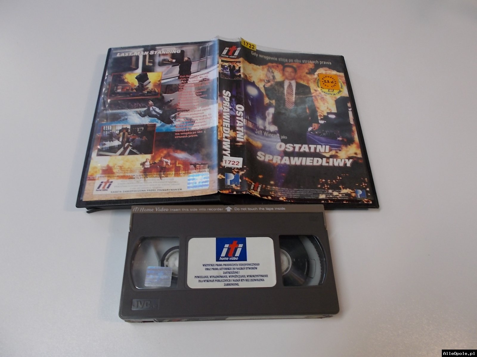 OSTATNI SPRAWIEDLIWY - VHS Kaseta Video - Opole 1705