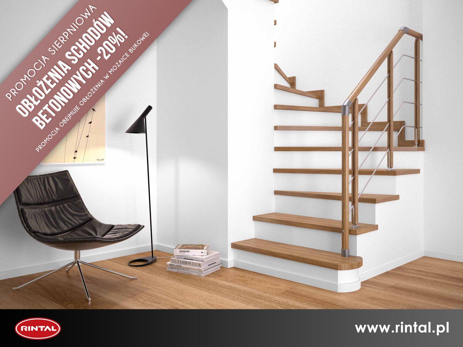 Obłożenia schodów betonowych - 20%