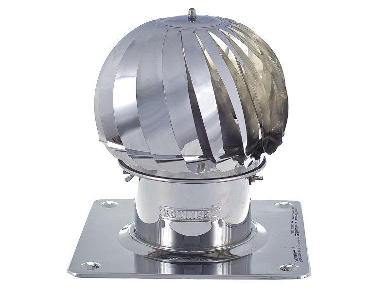 Obrotowa nasada kominowa Turbomax 1 Ø150mm z podstawą kwadratową