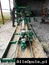 Obtaczarka do cylindrowania bali