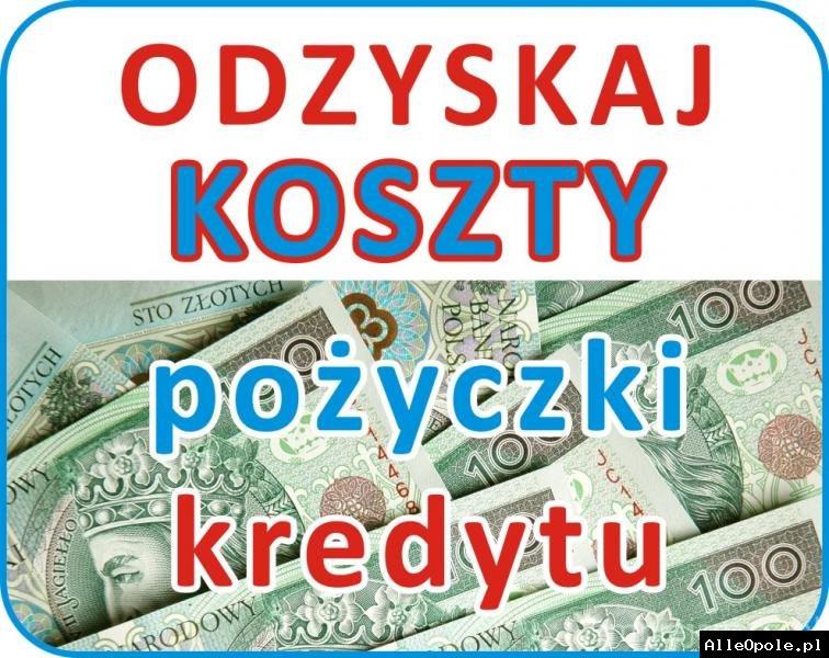 Odzyskujemy koszty spłaconych pożyczek/kredytów