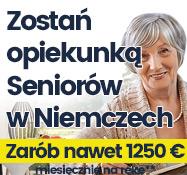 Opiekunki Niemcy - Nawet 1250 EURO Na Rękę - Niemcy Wielka Brytania