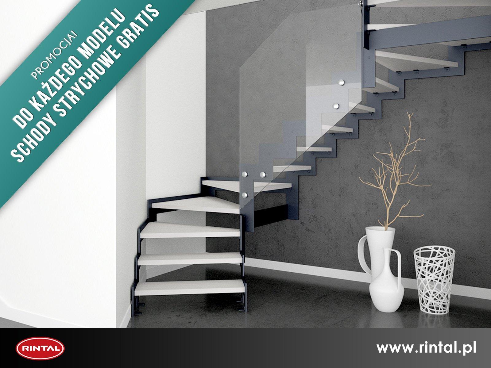Ostatnie Dni Promocji - do każdego modelu schodów RINTAL schody strychowe gratis!