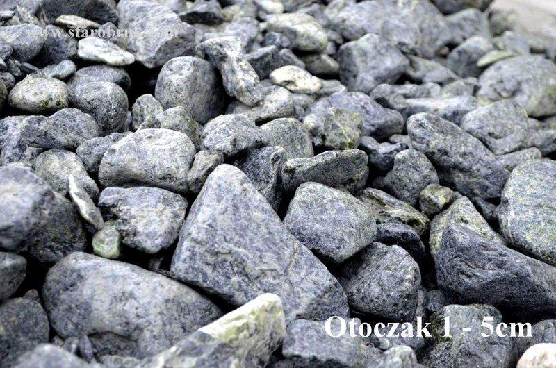 Otoczak zielony do ogrodu kruszywa kamień ozdobny naturalny łupek grys PROMOCJA
