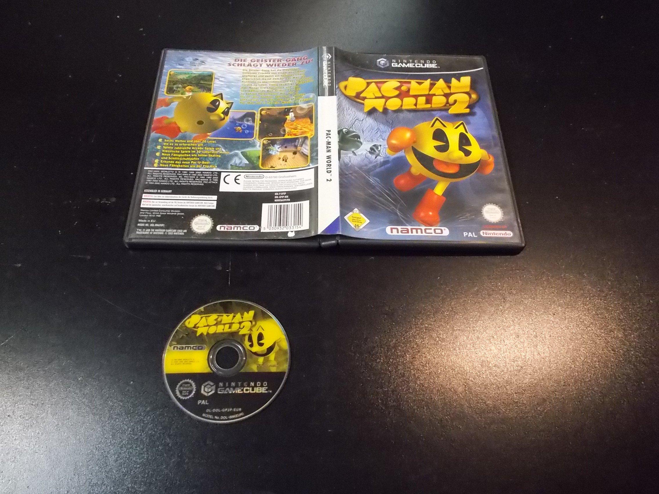 PAC-MAN WORLD - GRA Nintendo GameCube - Sklep