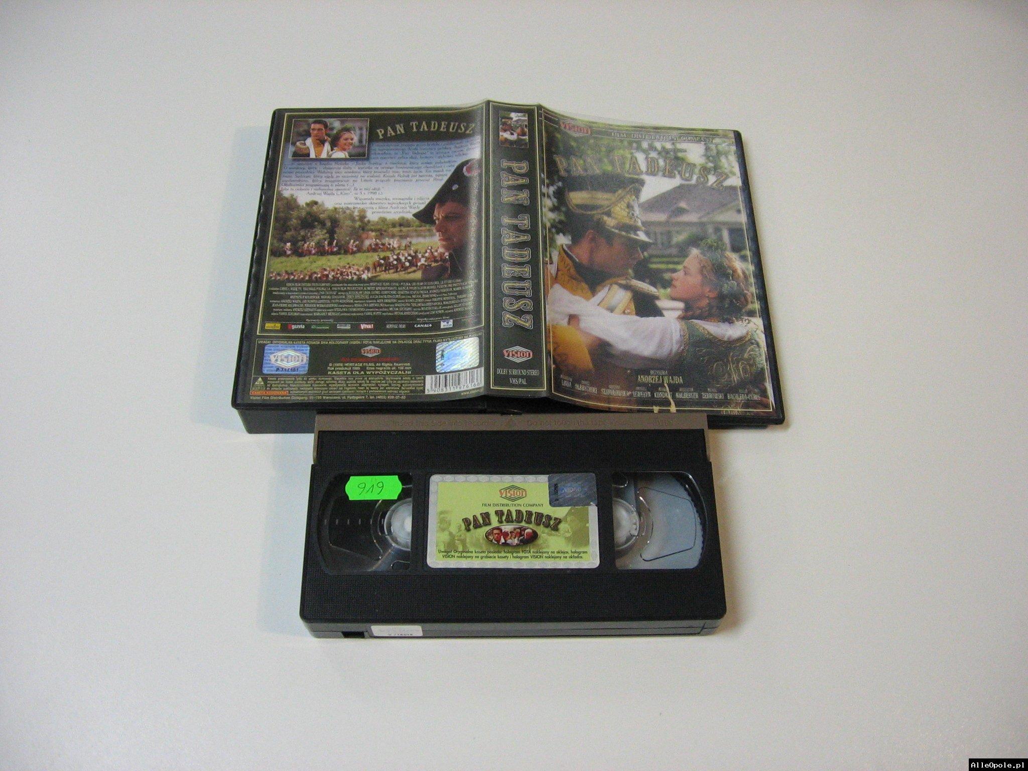 PAN TADEUSZ - VHS Kaseta Video - Opole 1775