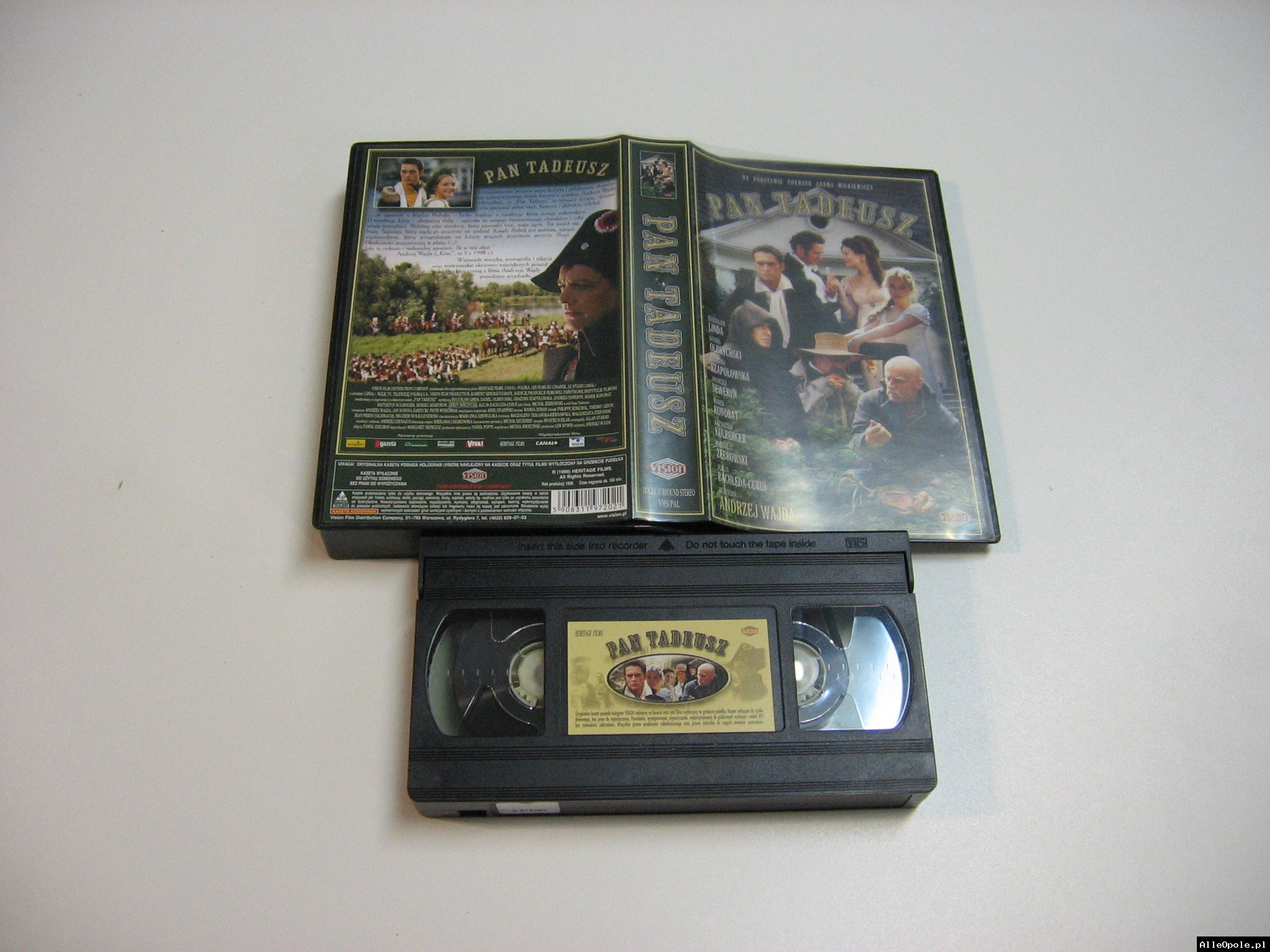 PAN TADEUSZ - VHS Kaseta Video - Opole 1802