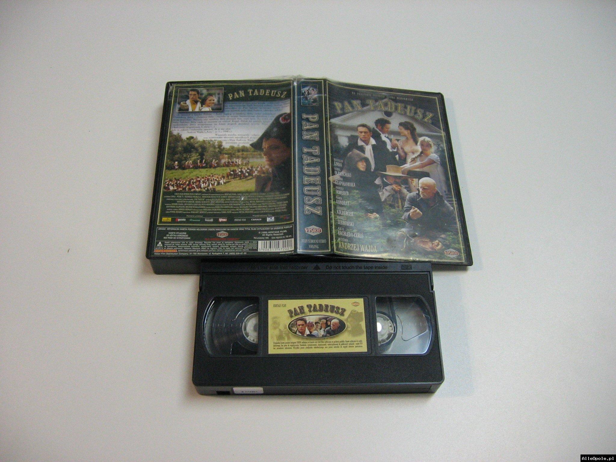 PAN TADEUSZ - VHS Kaseta Video - Opole 1803