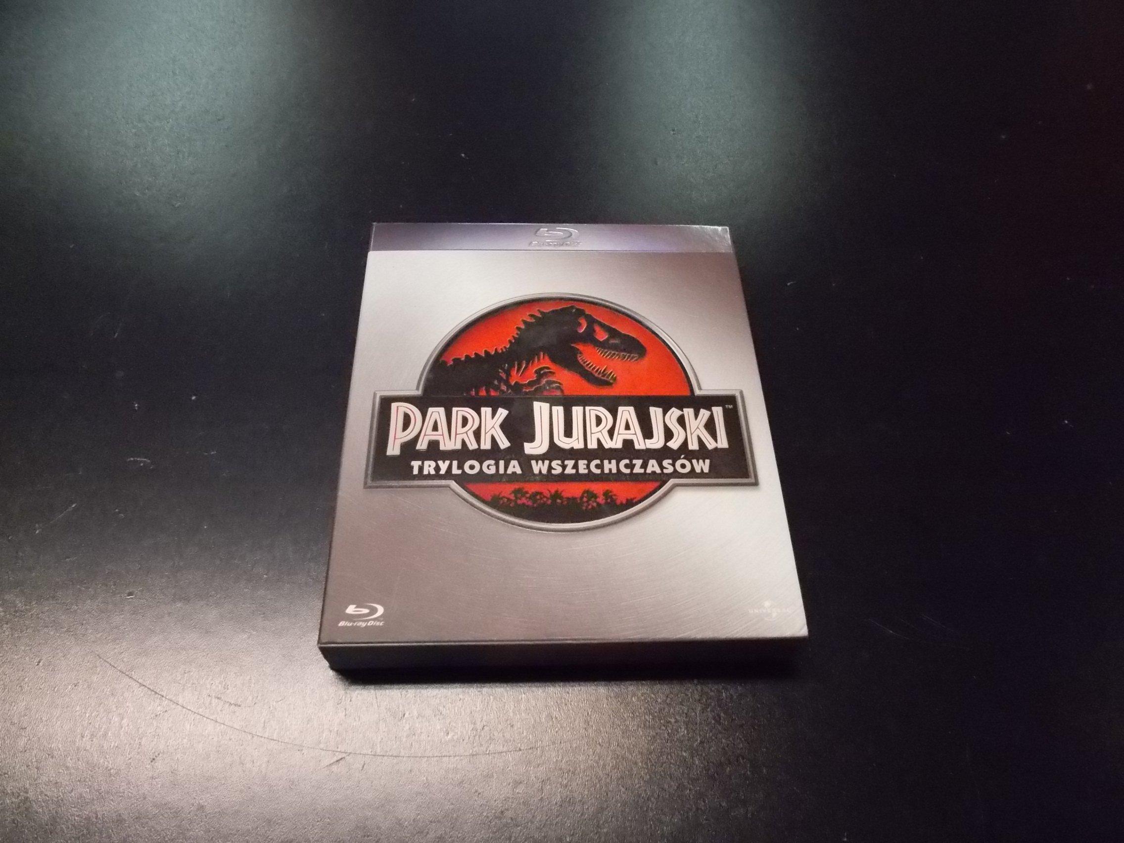 PARK JURAJSKI TRYLOGIA PL - Blu-ray - Sklep