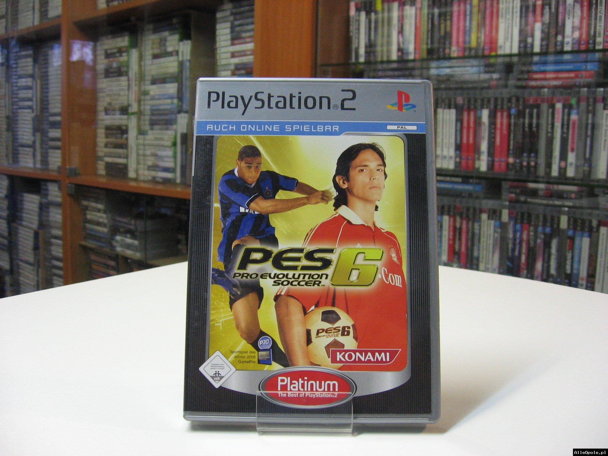 PES 6 Pro Evolution Soccer 6 - GRA Ps2 - Opole 0566
