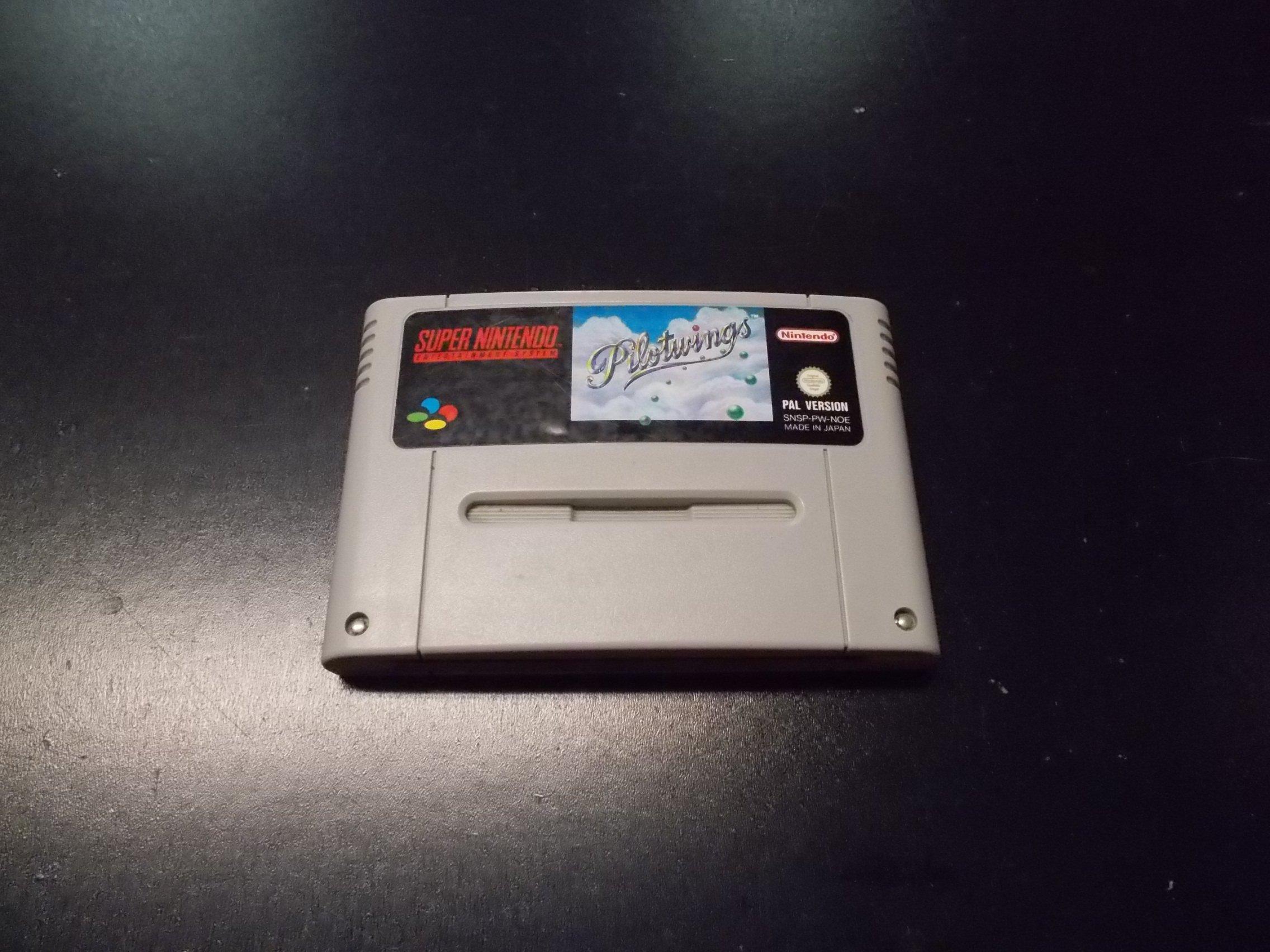 PILOTWINGS - GRA Nintendo SNES Opole 0222