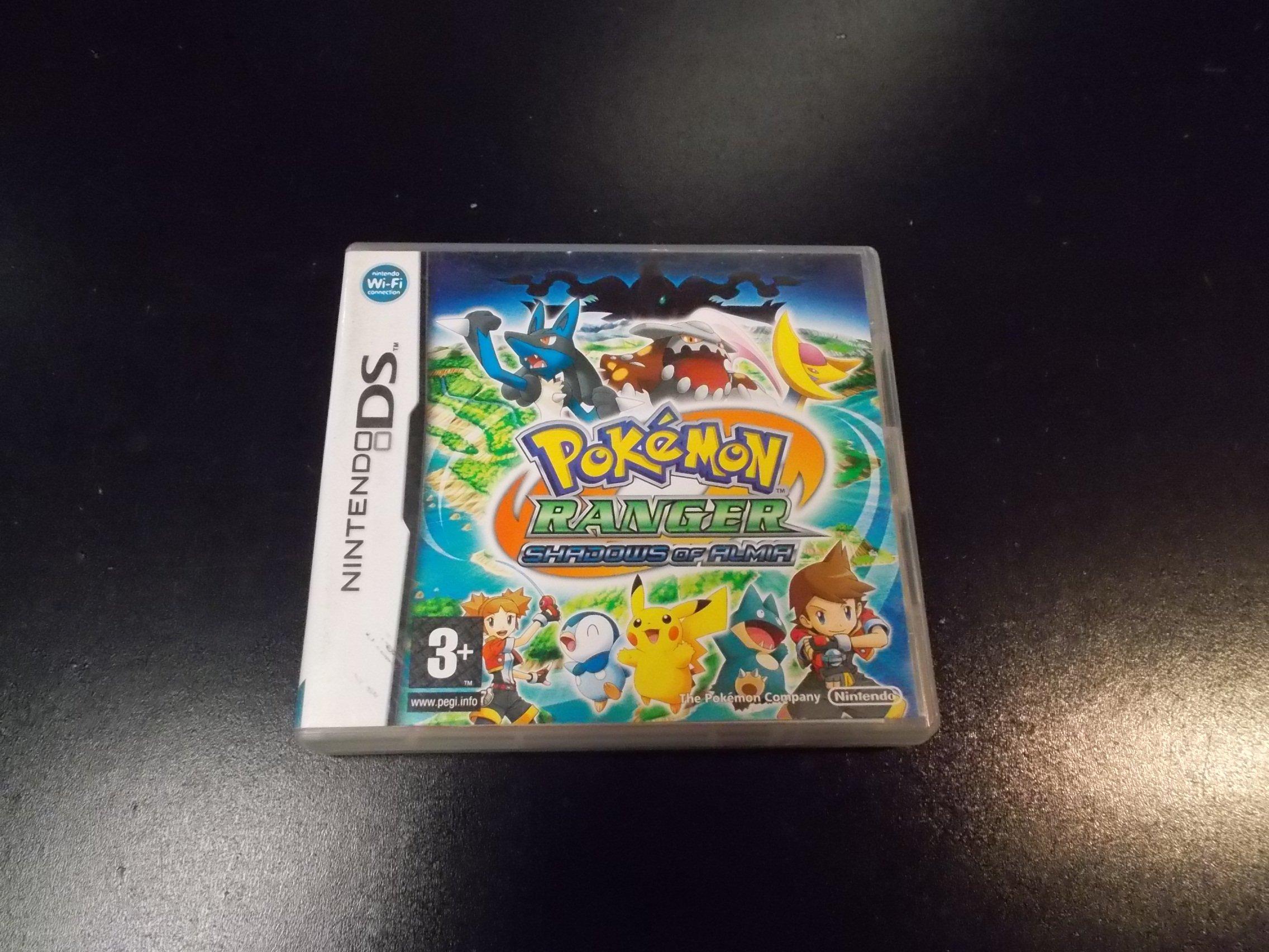 POKEMON RANGER : SHADOWS OF ALMIA - GRA Nintendo DS Sklep