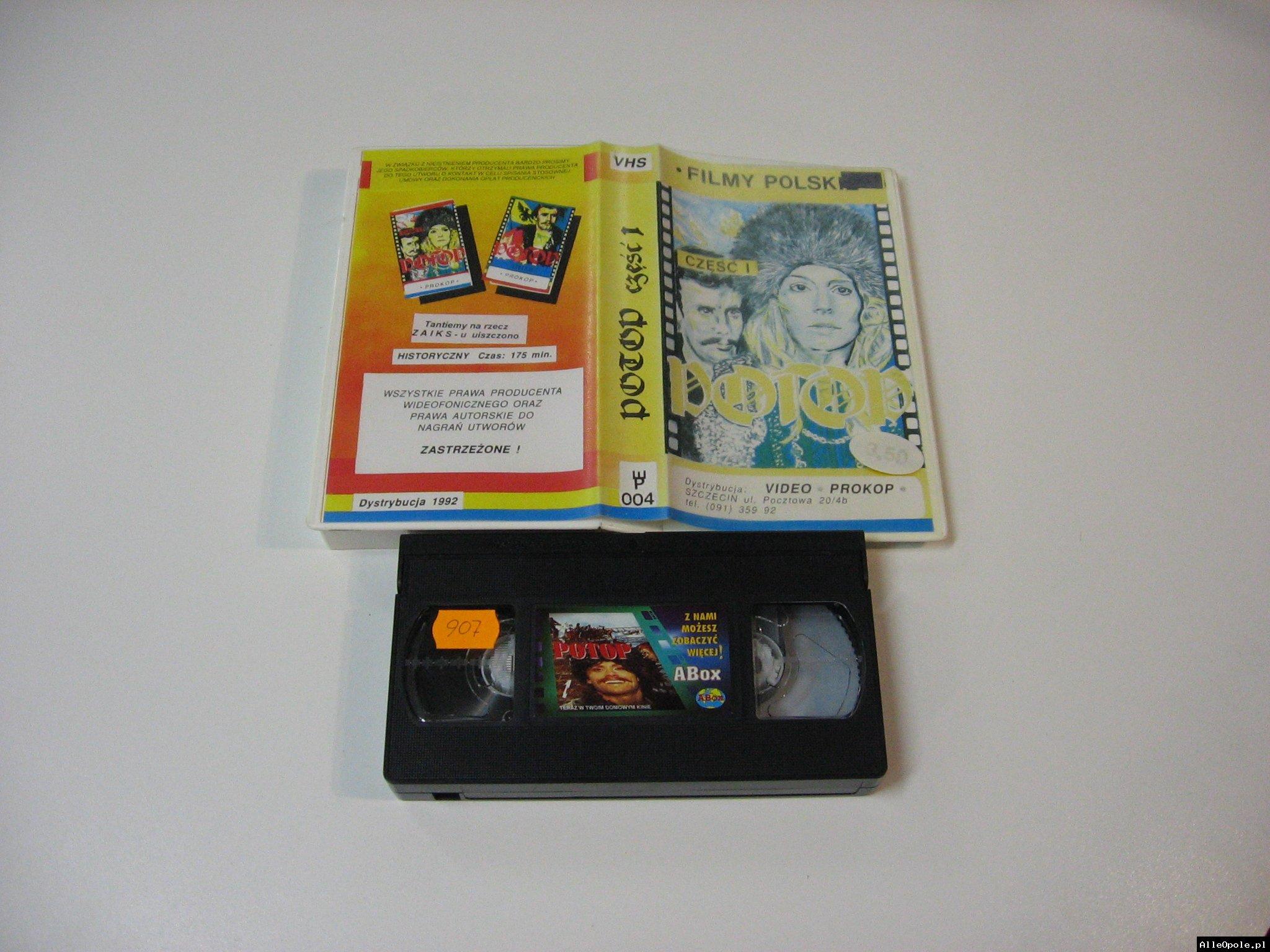 POTOP 1 - VHS Kaseta Video - Opole 1778