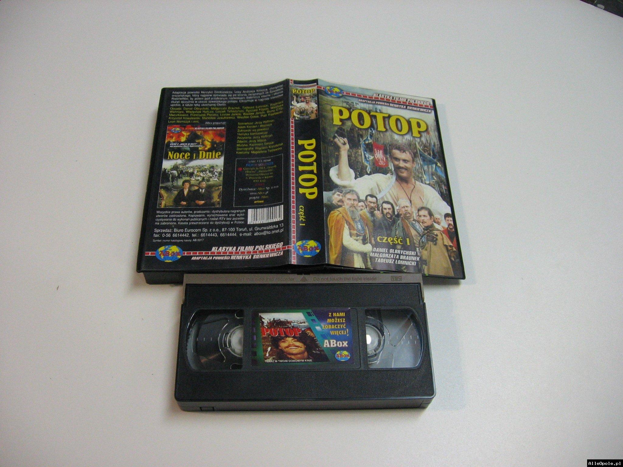 POTOP 1 - VHS Kaseta Video - Opole 1807