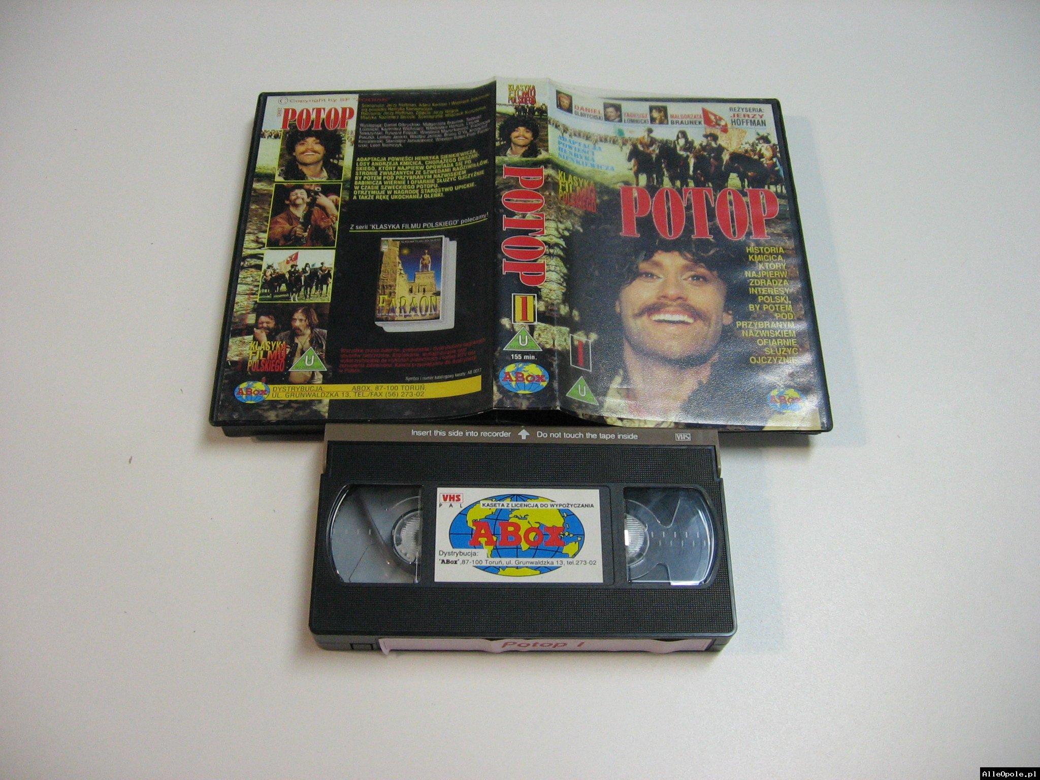 POTOP 1 - VHS Kaseta Video - Opole 1808