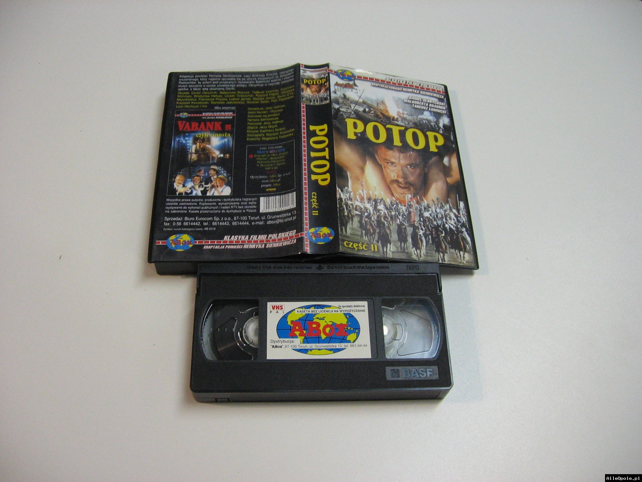 POTOP 2 - VHS Kaseta Video - Opole 1806