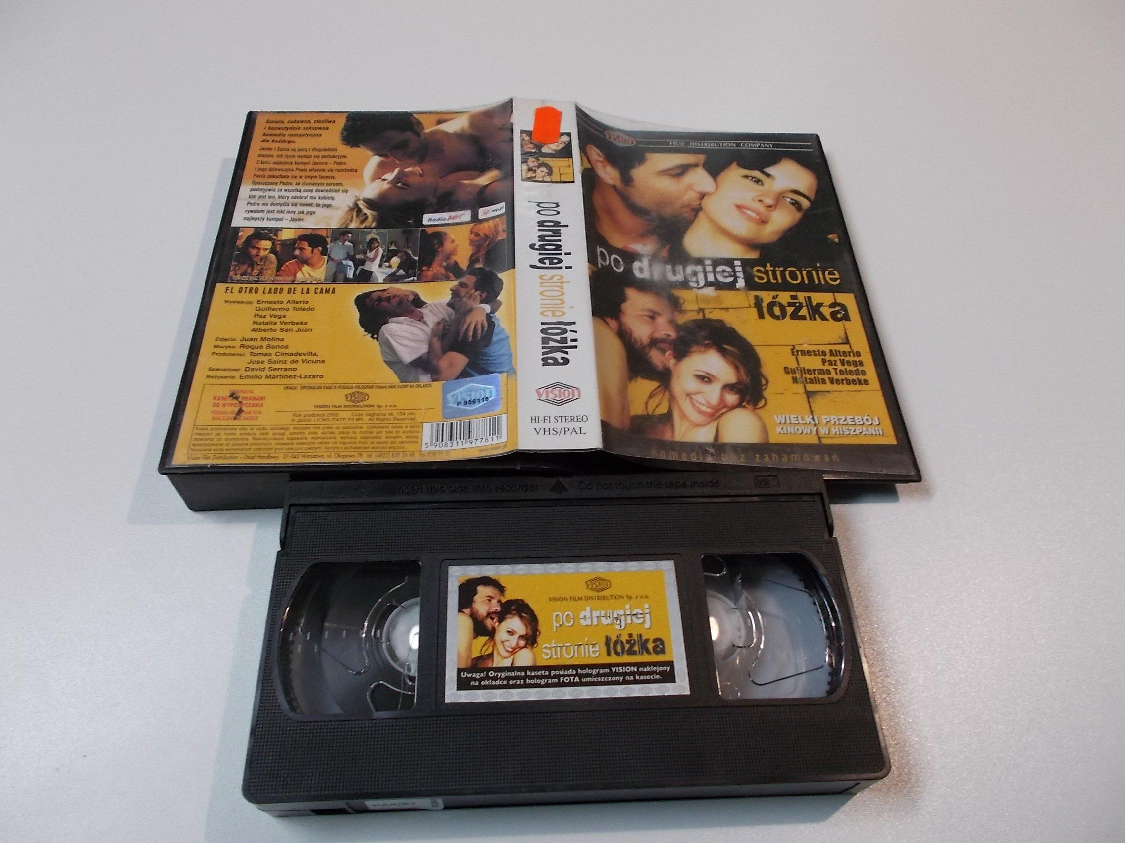 PO DRUGIEJ STRONIE ŁÓŻKA -  kaseta Video VHS - 1469 Sklep