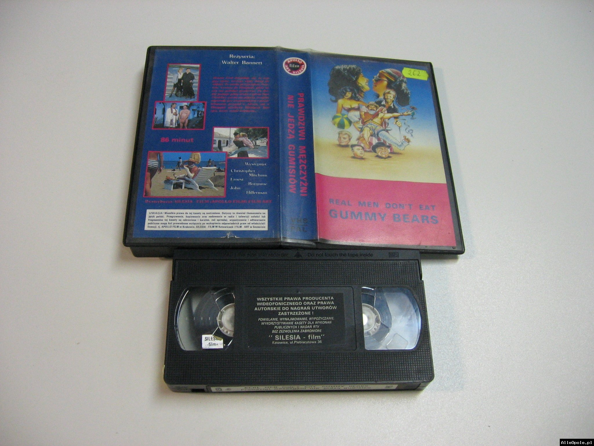 PRAWDZIWI MĘŻCZYŹNI NIE JEDZĄ GUMISIÓW - VHS Kaseta Video - Opole 1837