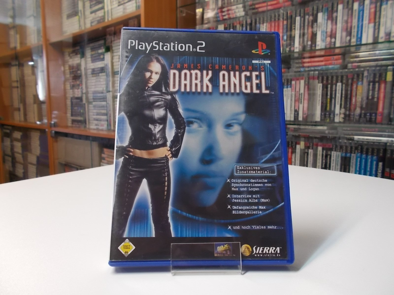 James Cameron's Dark Angel - GRA Ps2 - Opole 0501