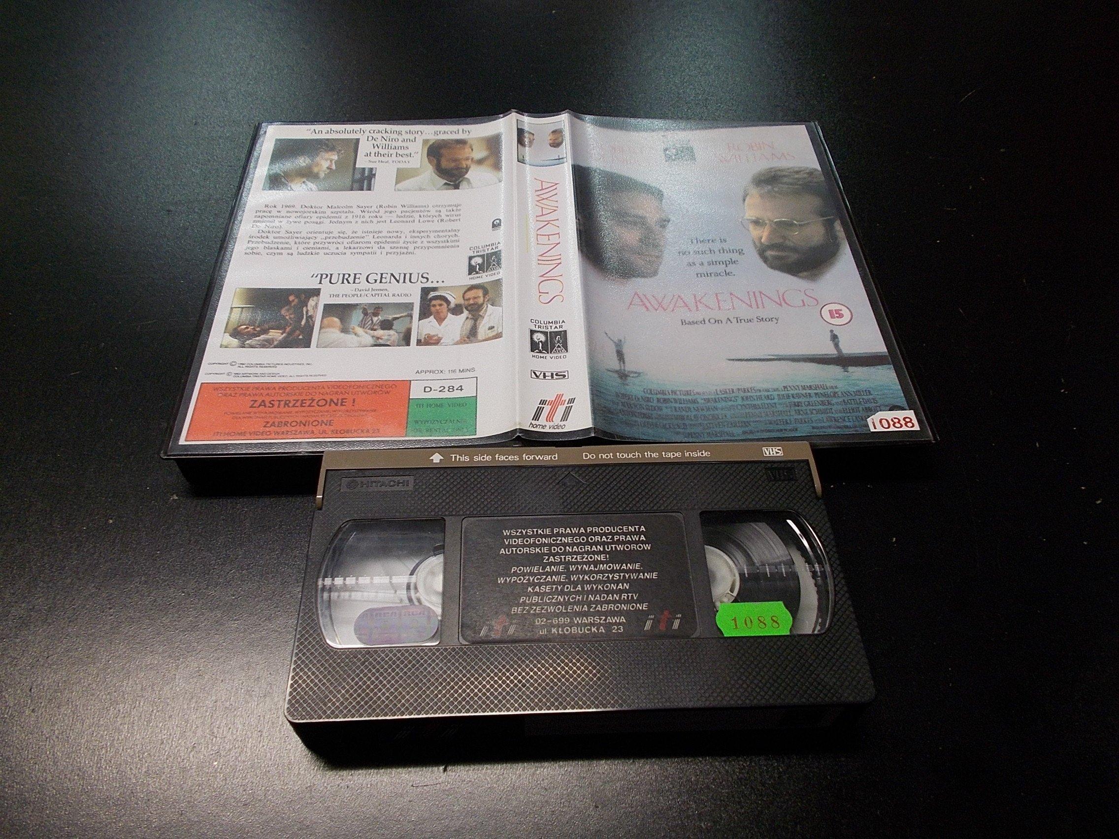 PRZEBUDZENIE -  kaseta VHS - 1192 Opole - AlleOpole.pl