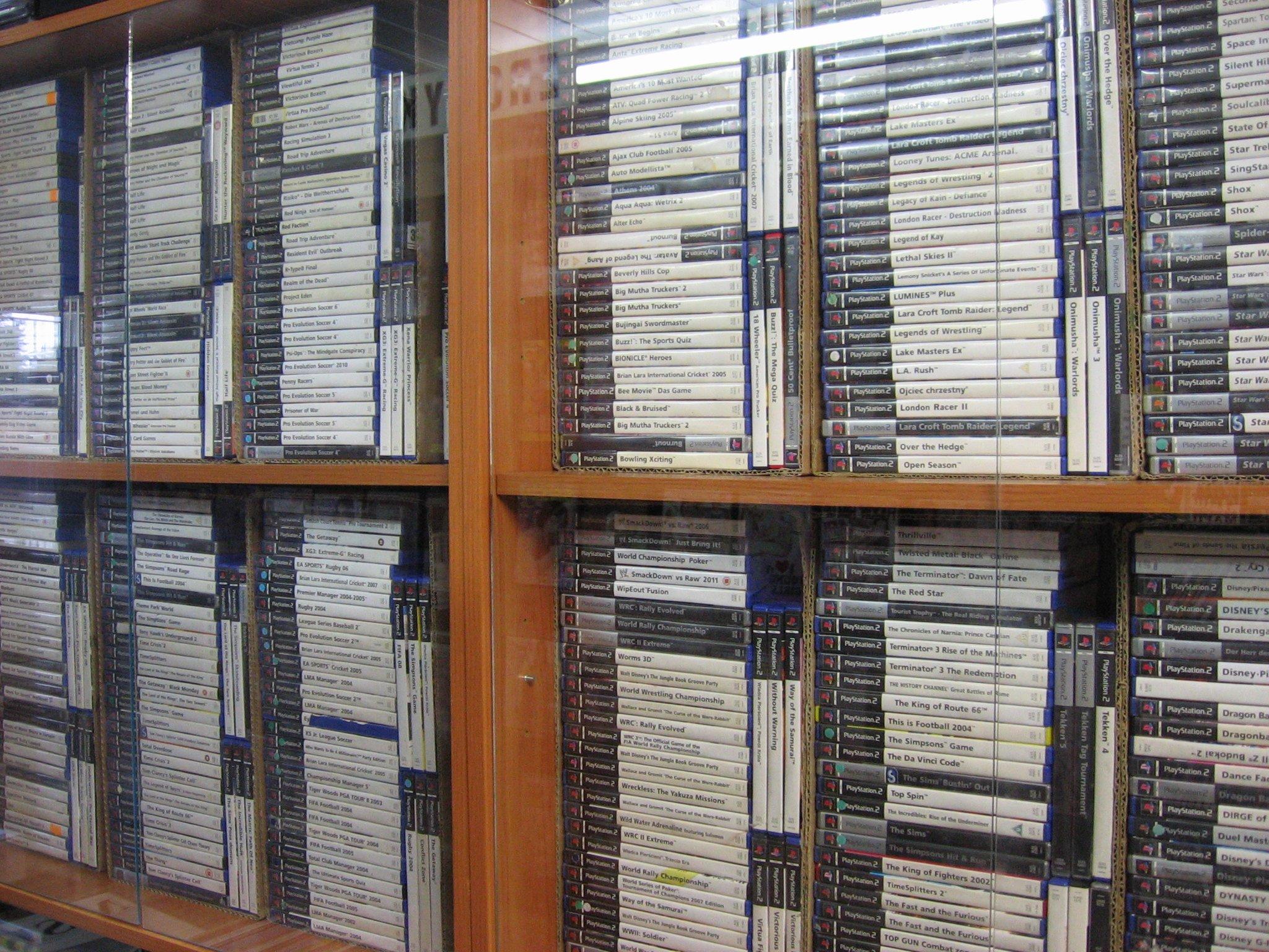 Sprzedaż i wymiana gier na konsole PS2 - Opole
