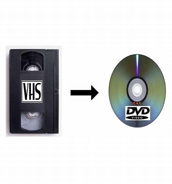 Przegrywanie kaset VHS na DVD - Twoje filmy - Opole