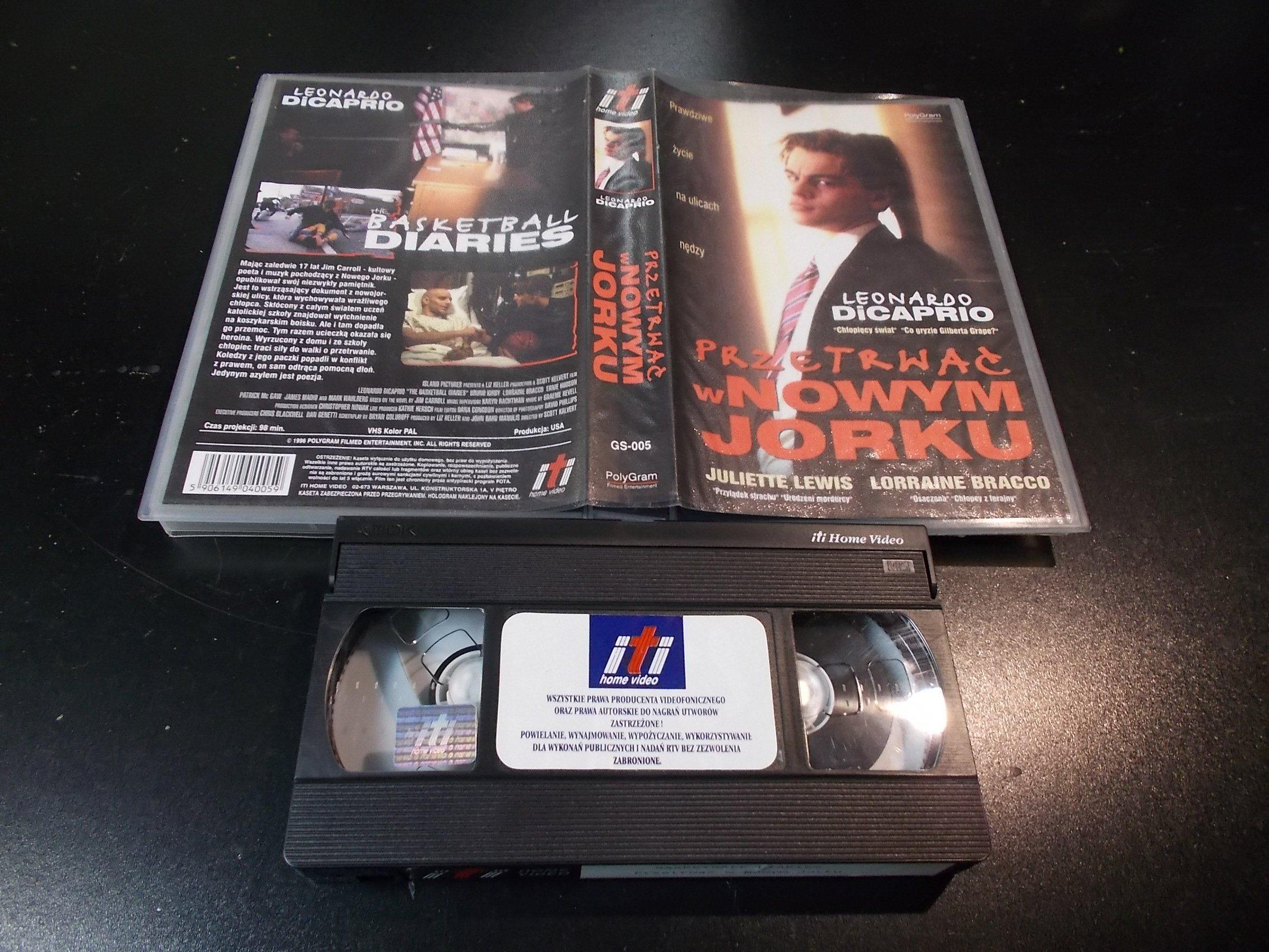 PRZETRWAĆ W NOWYM JORKU - kaseta Video VHS - 1409 Sklep