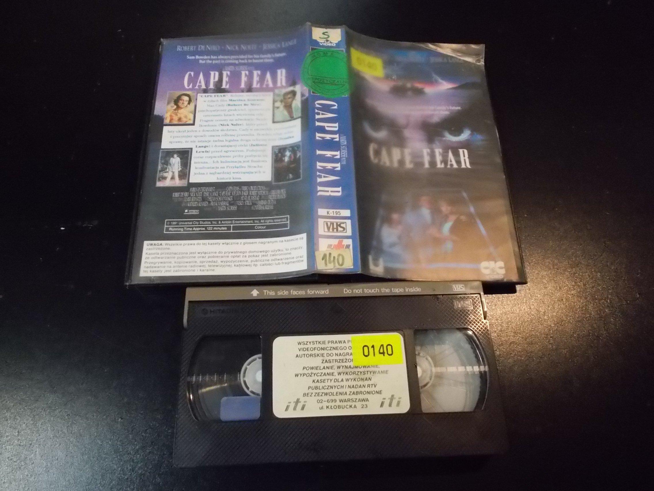 PRZYLONDEK STRACHU - kaseta Video VHS - 1358 Sklep