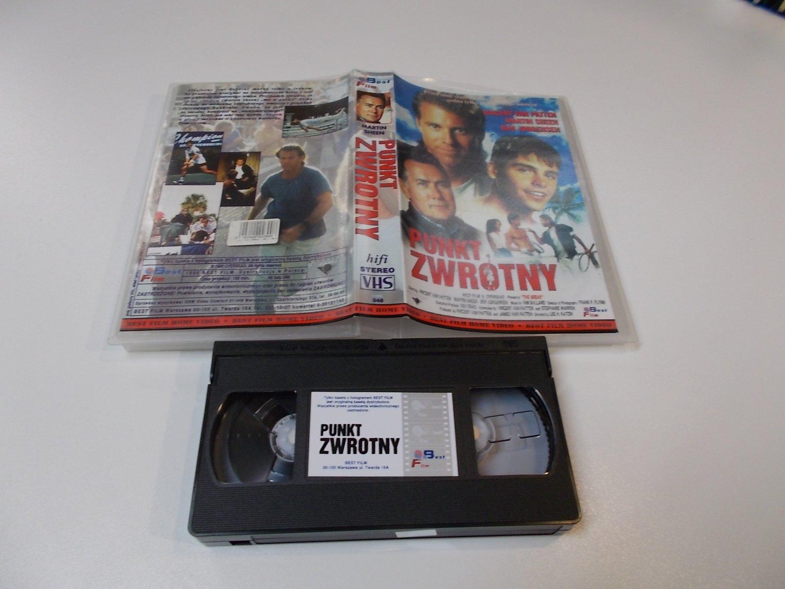 PUNKT ZWROTNY - VHS Kaseta Video - Opole 1690