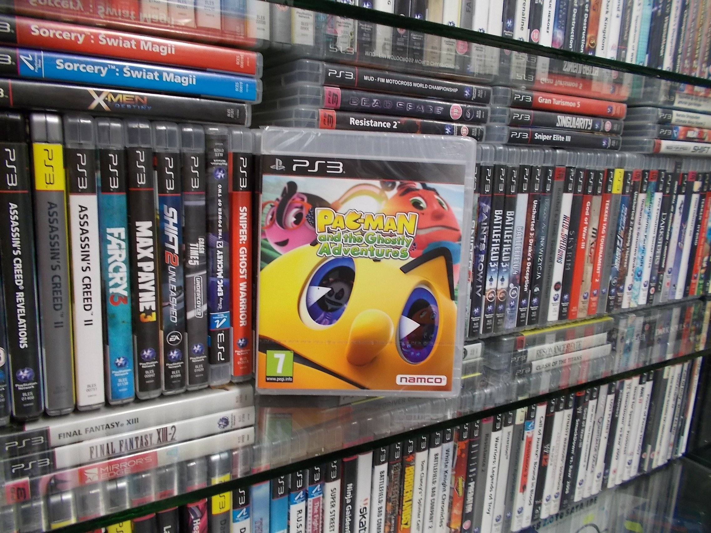 Pac-Man and the Ghostly Adventures - GRA PS3 - Sklep
