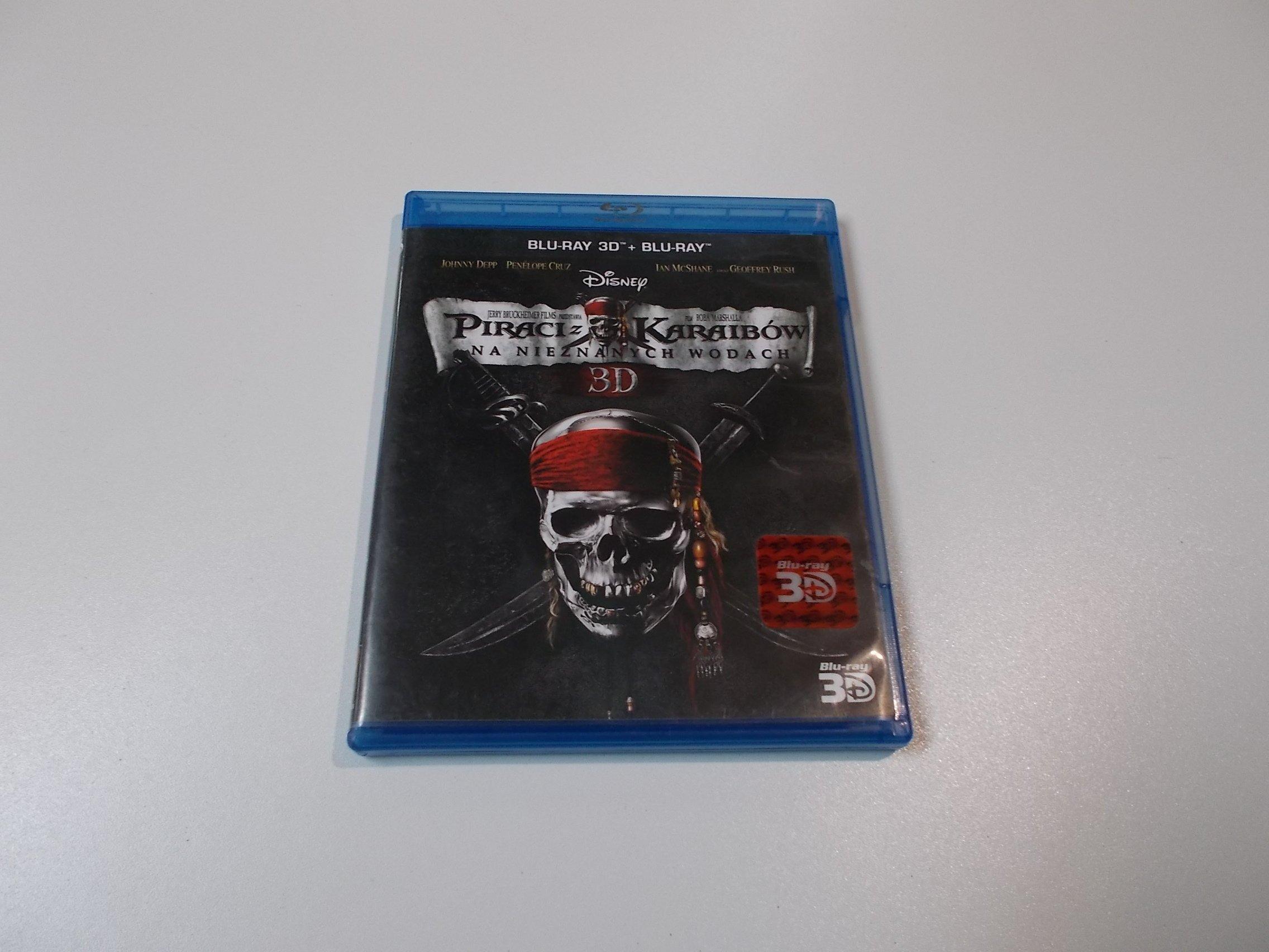 Piraci z Karaibów Na nieznanych wodach - Blu-ray 3D - Sklep