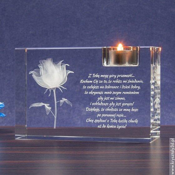 Piękna Róża 3D jako prezent z okazji Dnia Matki!