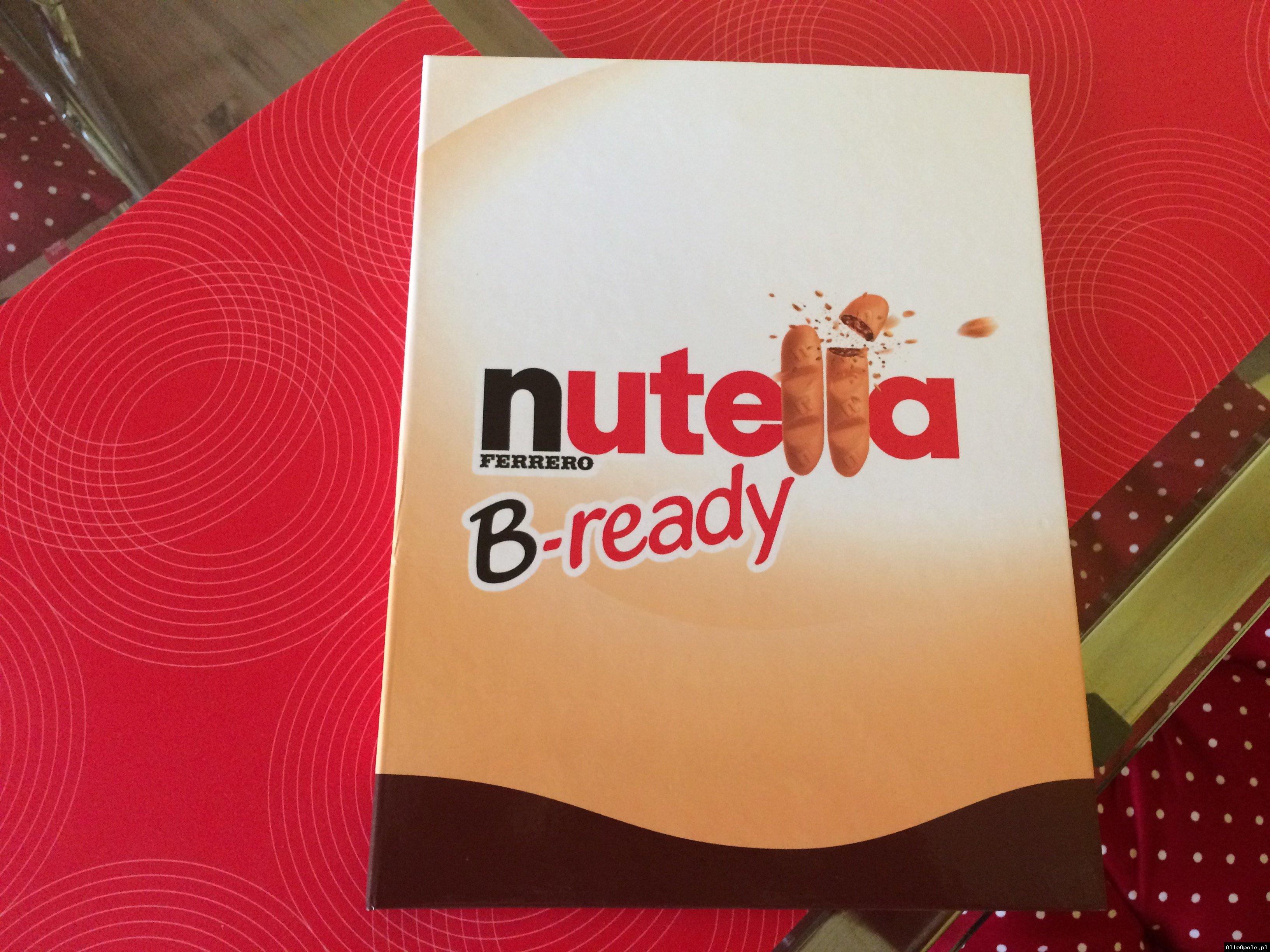 Piękny Nowy Notatnik nutella