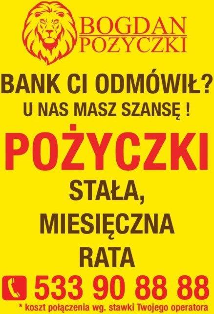 Pożyczki standardowe i pod zastaw!!! Do 100 tysięcy zł. Szybka decyzja!!!